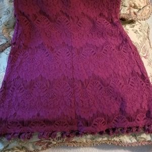 NWT  Junior's Speechless Lace Dress